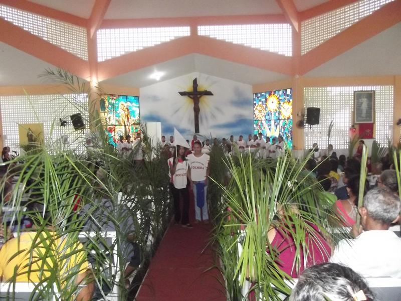 Procissão e Missa de Ramos abrem programação da Semana Santa em Cabeceiras