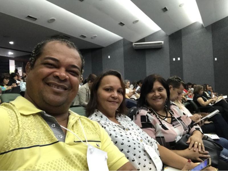 Primeira Dama e secretaria de saúde Dra. Valda Vilarinho participa do 1° Encontro de Cerimonial