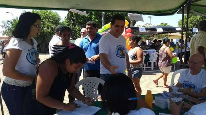 Secretaria municipal realiza segunda edição do projeto Saúde na Praça