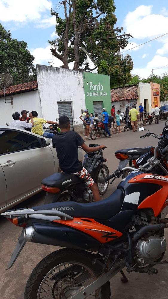 Dono de bar é baleado durante assalto em Matias Olímpio