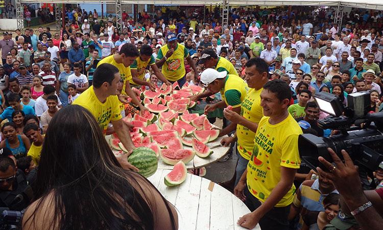14ª Festa da Melancia tem data marcada para acontecer em Jatobá do Piauí