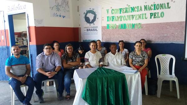 Em Agricolândia é realizada a V Conferência infantojuvenil pelo meio ambiente