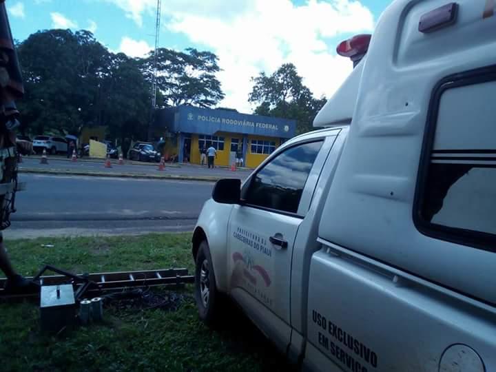 Ambulância de Cabeceiras é retida pela PRF na BR 343
