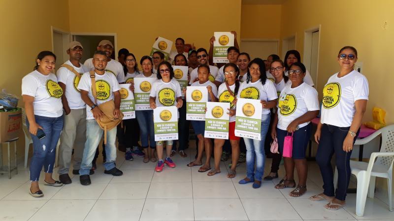 Secretaria Municipal de Saúde realiza mobilização contra o Aedes Aegypti