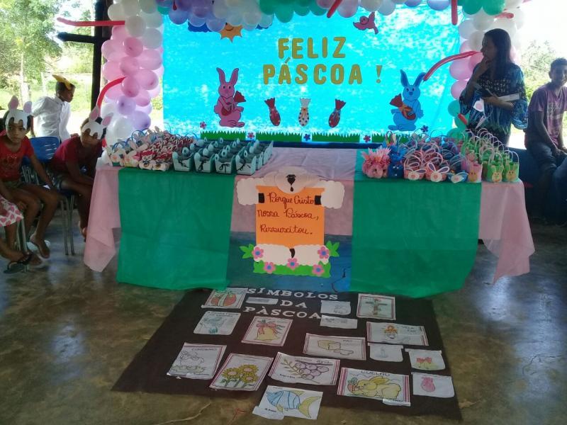Santa Filomena: escolas municipais realizam festas alusivas à Páscoa