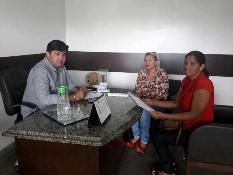 Secretaria do Idoso e Deficiente de Nazária solicita à empresa melhorias no transporte coletivo