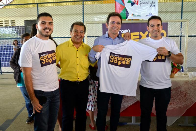 Conexão Jovem: Prefeitura de Água Branca realiza evento para 400 jovens do município