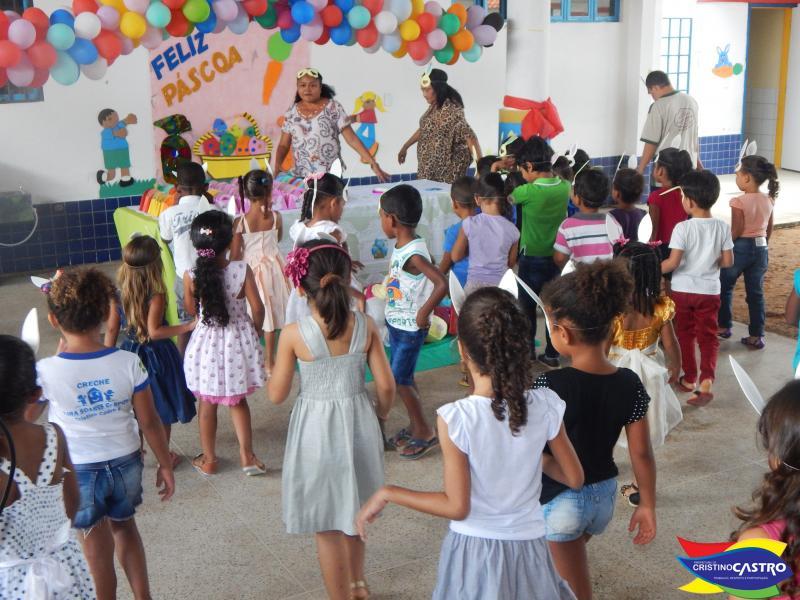 Secretaria de Educação realizou festa de Páscoa nas escolas