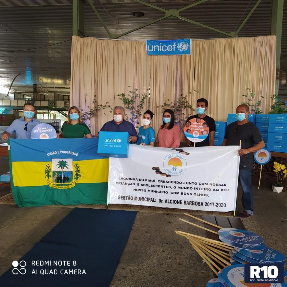 Lagoinha do Piauí é certificada com o Selo Unicef