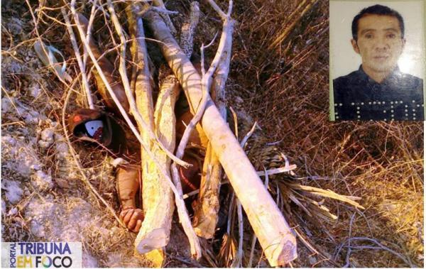 Homem é encontrado morto coberto de galhos no Piauí