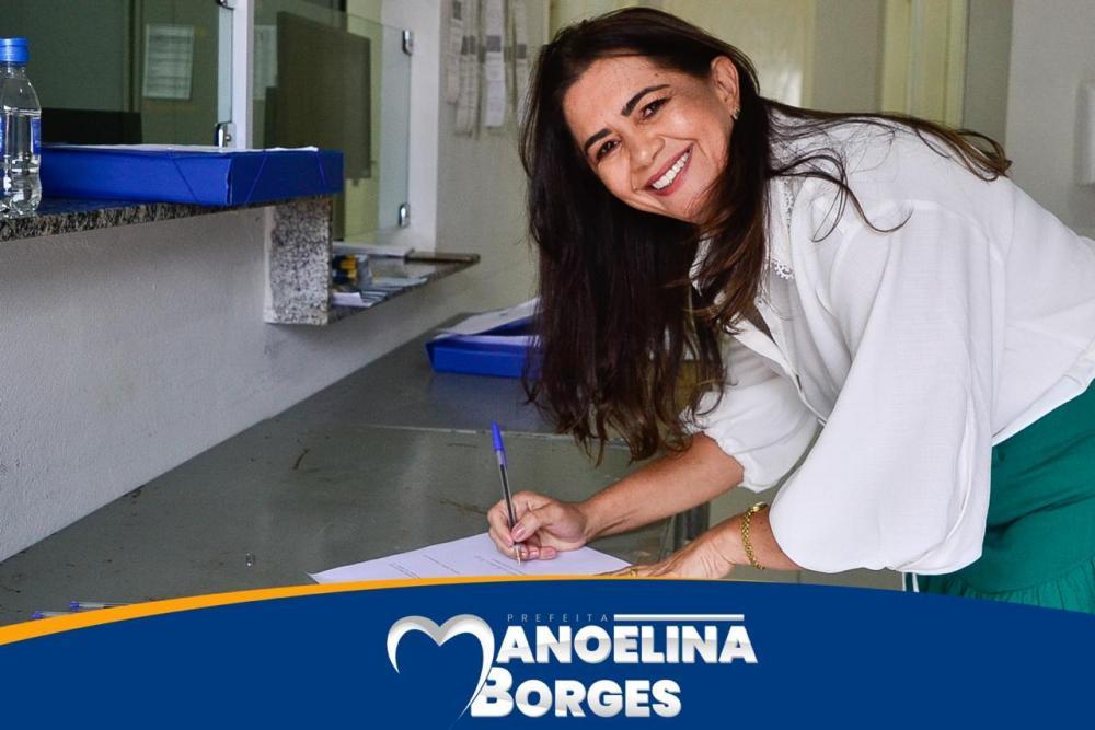 Manoelina Borges é diplomada a prefeita de Sebastião Leal