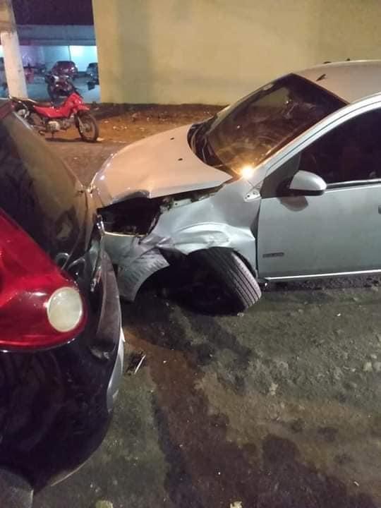 Registrado acidente envolvendo motocicleta e um carro em Passagem Franca
