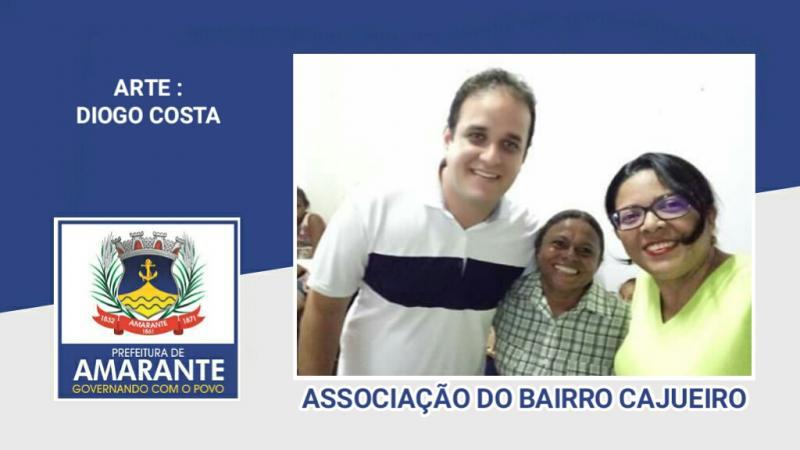 Prefeito Diego Teixeira comemora páscoa na Associação do bairro Cajueiro