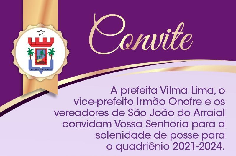 Prefeita Vilma Lima divulga programação de posse em São João do Arraial