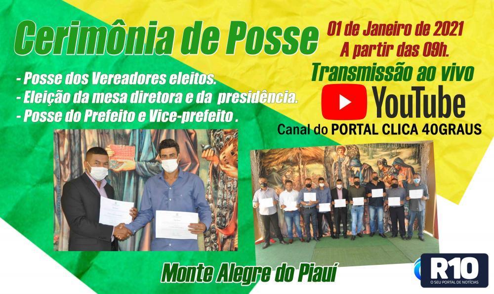 Posse dos eleitos acontece dia 1º de janeiro a partir das 09h.