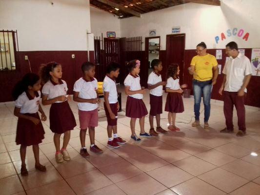 Escola Doce Vida trabalha com os alunos o verdadeiro significado da páscoa