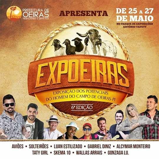 Prefeitura anuncia atrações da 6ª Expoeiras