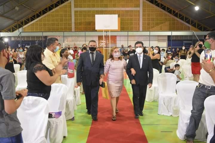 Vilma Lima é empossada para o 2ª mandato de prefeita de São João do Arraial