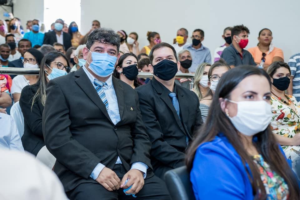 Realizado a posse do prefeito eleito de São João dos Patos Dr, Alexandre