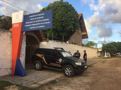 Prefeito e vereadores são presos em operação da Polícia Federal
