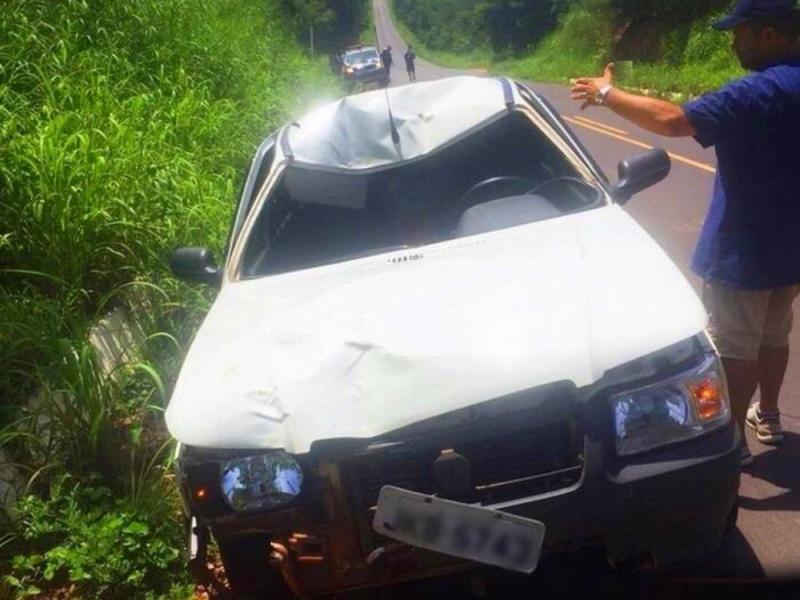 Motoqueiro morre ao ser atropelado por carro na BR-135