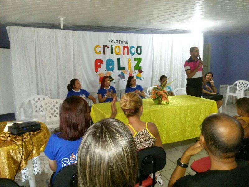Secretaria de Assistência Social lança programa Criança Feliz em Francisco Ayres