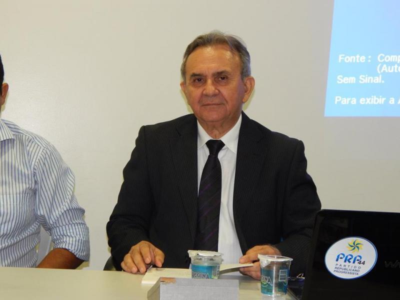 Ato de filiação do PRP, com seus pré-candidatos