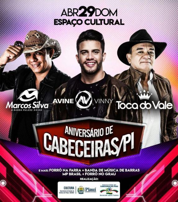 Prefeitura de Cabeceiras define as principais atrações para o aniversário da cidade
