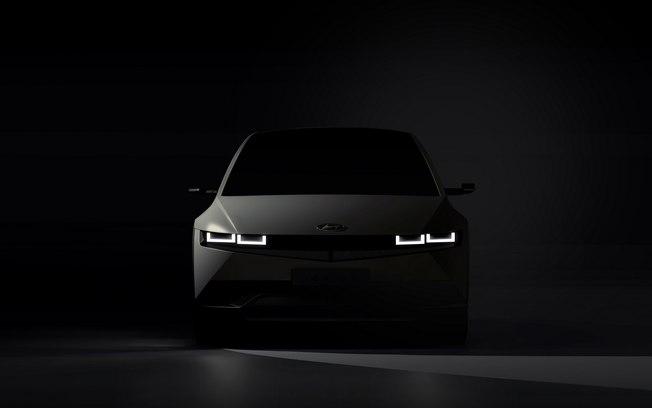 Hyundai revela teaser do Ioniq 5, futuro rival do Tesla Model 3