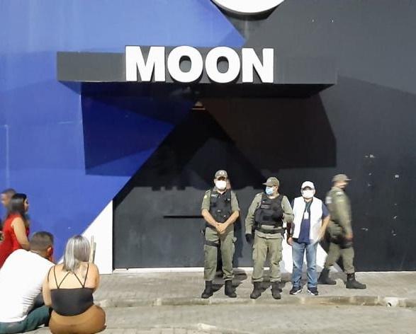 Na últimas sexta a boate Moon foi fechada - Foto: PM