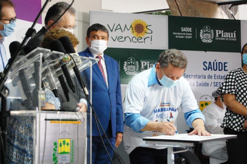 Gilberto Albuquerque, presidente da Fundação Municipal de Saúde / Foto: Ascom FMS