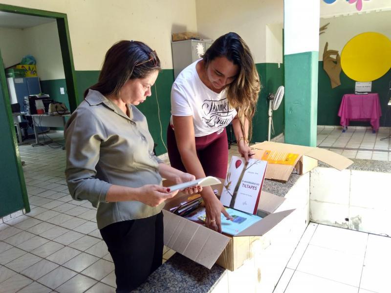 Água Branca recebe livros infantis da Fundação Itaú Social