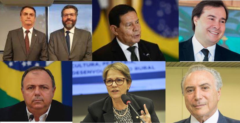 Assessores de Bolsonaro apreciam nomes que possam ajudar com a China