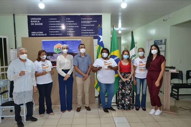 Secretaria de Saúde de S. Mendes começou a vacinação contra COVID-19
