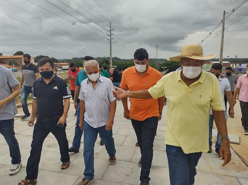 As obras do Parque Linear estão aceleradas (Foto: Ascom Semduh)
