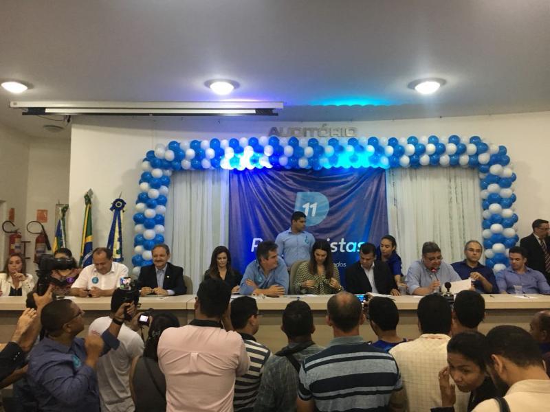 Firmino Paulo e Wilson Brandão se filiam ao Progressistas