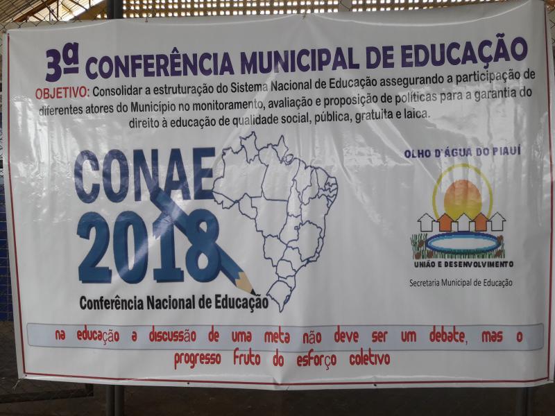 Secretaria Municipal da Educação realiza sua 3° Conferência