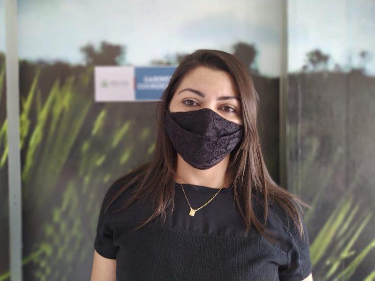 Secretária da SEMTAS – Marinalva Lima Foto: Fátima Miranda