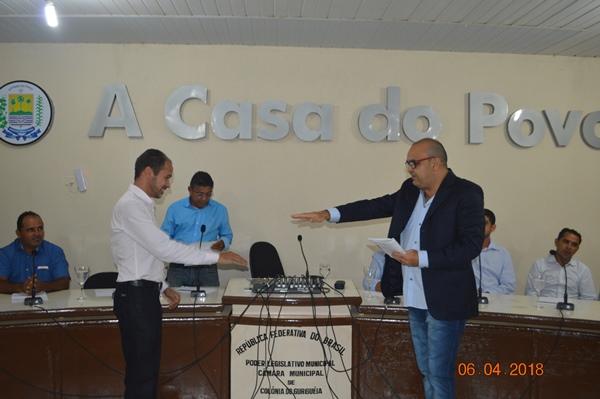 José Carlos Gonçalves Teodoro tomou posse no cargo de vereador em Colônia do Gurgueia-PI