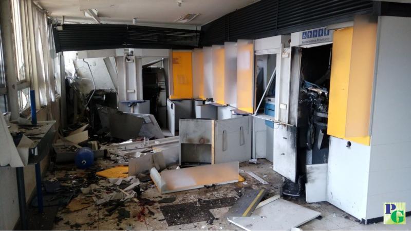 Bando explode agência do Banco do Brasil no município de Gilbués