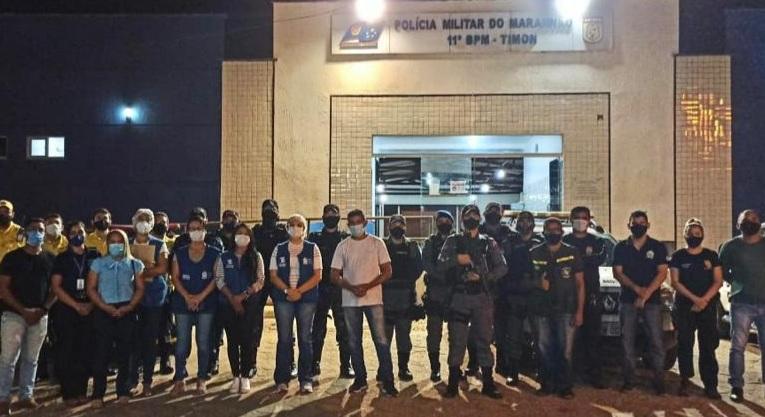 Timon: Força-tarefa dispersa aglomerações no primeiro dia de fiscalização