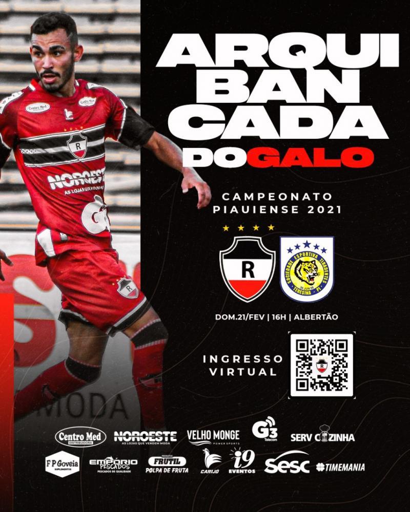 River Atlético Clube lança campanha de ingresso virtual