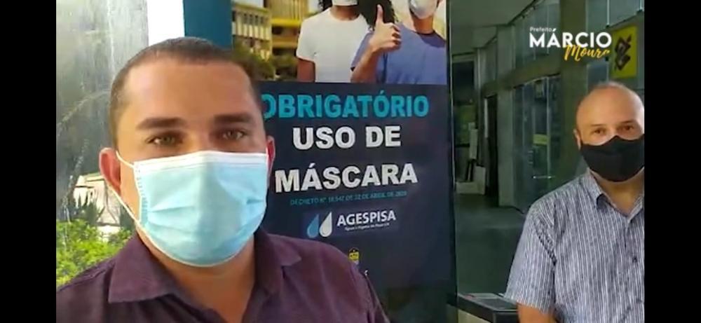 Prefeito Márcio Moura participa de reunião com presidente da AGESPISA