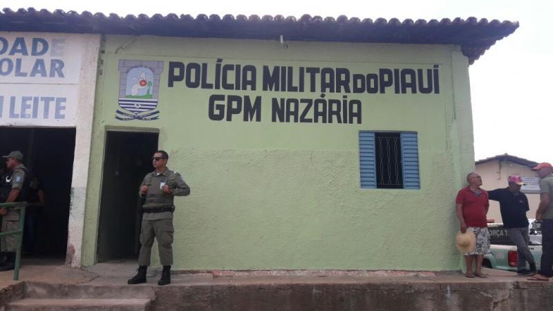 Prefeitura inaugura sede do Grupamento da Polícia Militar em Nazária