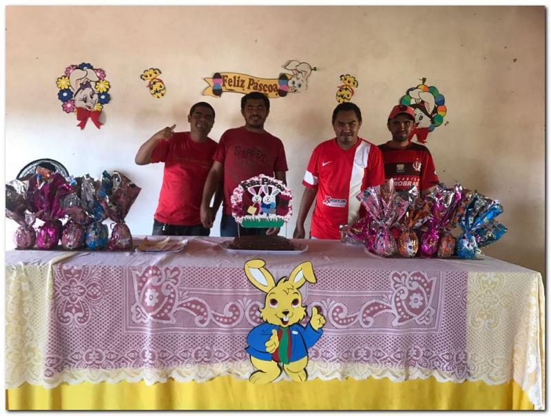 CAPS I realiza confraternização em comemoração a páscoa