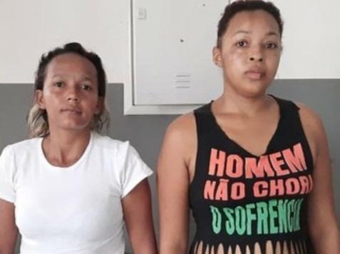 Larissa e Aline, que estão mantendo um caso amoroso, tramaram e executaram Osvaldo Queiroz