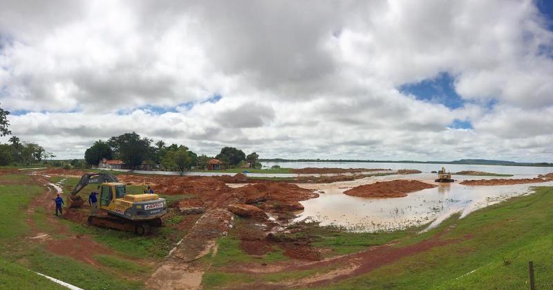 Nível de água da Barragem do Bezerro baixa 8cm