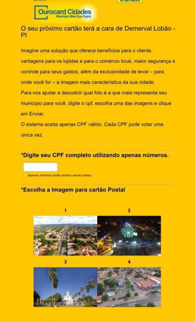 Enquete em Demerval Lobão: Qual imagem representa melhor a cidade?