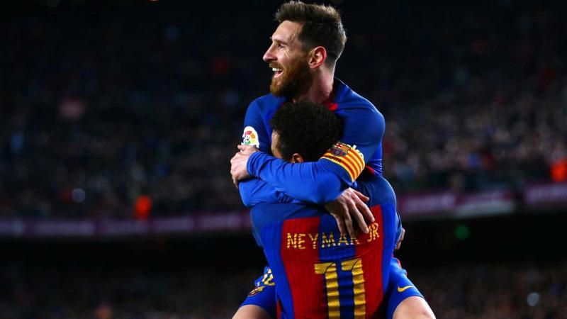 Neymar anuncia parceria com Messi, mas faz mistério