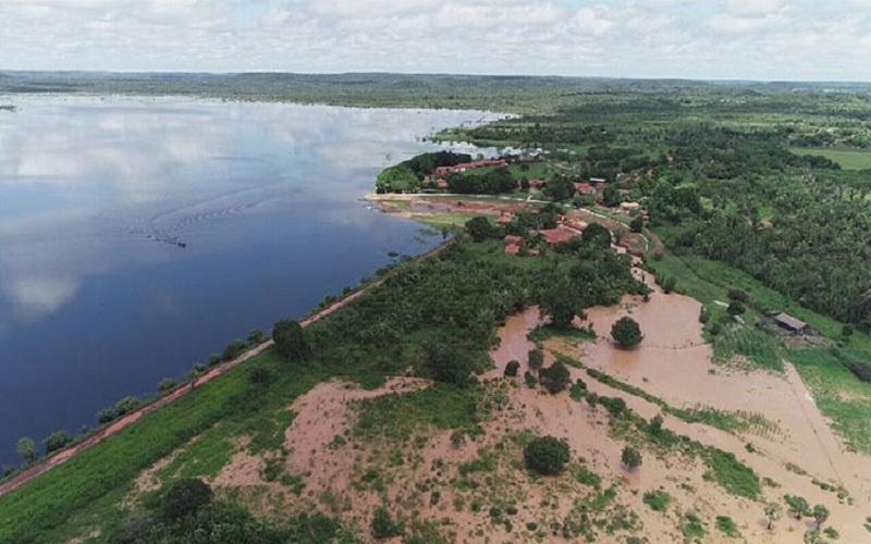 Comunidades rurais de Cabeceiras estão em estado de alerta por conta de vazão da Barragem do Bezerro